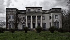 Abandoned mansion in Belgium.