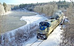 The SNCRR tracks trace the west shore of the Hudson River for most of its length. go to http://americanroads.net/adirondack_trail_mix_winter2014%20.htm for the rest of the story