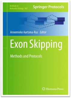 Methods in Molecular Biology Vol.867 - Exon Skipping Methods and Protocols, 440 Pages | Sách Việt Nam