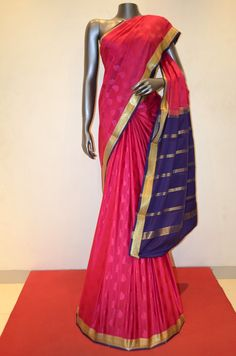 Mysore Crepe Silk Saree Product Code: AB210619 Online Shopping: http://www.janardhanasilk.com/index.php?route=product/product&search=AB210619&description=true&product_id=4092
