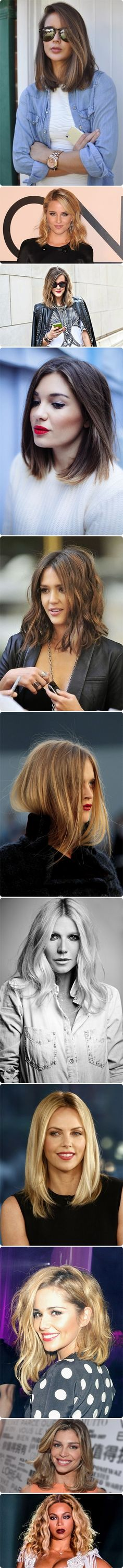 Bisbilhoteiras | Blog | Long Bob Hair