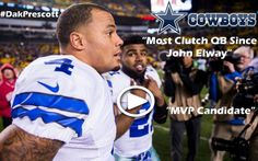 Dallas Cowboys QB Dak Prescott Has Taken Over The NFL! See How He Made It This Far As He Explains His Incredible Life Story!