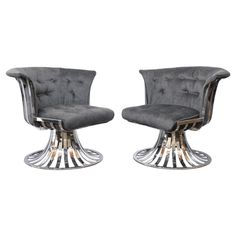 Pair of Russell Woodard Lounge Chairs #huntersalley