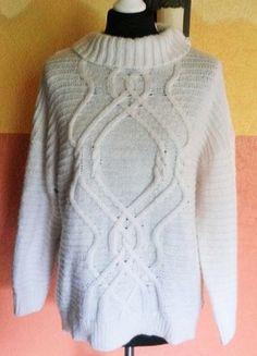 Kaufe meinen Artikel bei #Kleiderkreisel http://www.kleiderkreisel.de/damenmode/pullis-and-sweatshirts-langarmlig/107765822-cremefarbener-alpaka-woll-pulli-von-hm-grosse-m