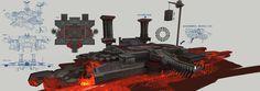 Elven Inn by Nunchakus Chen on ArtStation. Environment Concept, Environment Design, Chen, 2d Game Art, Scenery, Boss, Castle, Platform, Classic