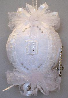 Anniversary Ornament Heirloom Swarovski by FlipFlopsforAllShop