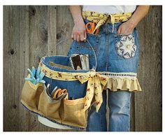 fazer avental com calça jeans - Pesquisa Google