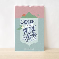 This is our third Annual Charity Calendar Project and this year we're donating of the profits to Melbourne's Asylum Seeker Resource Centre. Calendar 2014, Wish You Are Here, Children's Literature, Pretty Cards, Last Minute Gifts, Paper Goods, Inspire Me, Hand Lettering, Charity