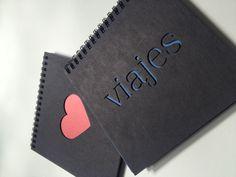 Laser cut lovely notebooks