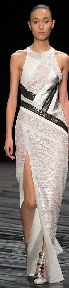 J. Mendel Spring 2015 Ready-to-Wear jaglady