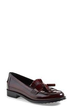 Tod's+Fringe+Loafer+(Women)+available+at+#Nordstrom