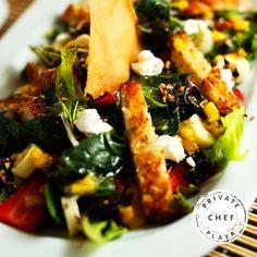 Si tu platillo es colorido esta lleno de cualidades que tu cuerpo agradecerá bastante. Gracias #healthycoach Private Chef Playa.