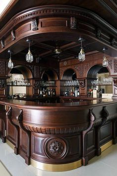 38 The Best Home Bar Designs Ideas - Picking the best basement bar idea from a long list of possibilities can be a daunting task. It will be confusing if you have absolutely no idea what . Small Basement Bars, Basement Bar Designs, Home Bar Designs, Basement Ideas, Basement Plans, Basement Renovations, Basement Stairs, Diy Home Bar, Bars For Home