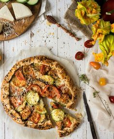 Let's Treat Ourselves – Your recipes … a piece of cake Pizza Tarts, Piece Of Cakes, Vegetable Pizza, Quiche, Food And Drink, Treats, Vegetables, Islands, Greece