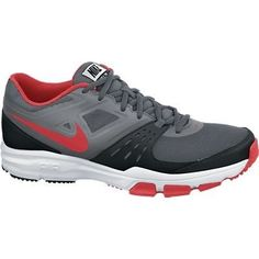 Nike Mens Air One TR Dark GreyLt CrmsnBlkMdm Gry Training Shoe 13 Men US * You can get more details by clicking on the image.
