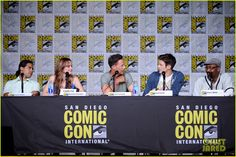 #TheFlash cast at the Comic Con Panel 2016