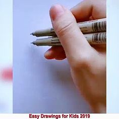 Easy Flower Drawings, Art Drawings Sketches Simple, Easy Drawings For Kids, Art Drawings Beautiful, Scenery Drawing For Kids, Easy Christmas Drawings, Pencil Art Drawings, Drawing Drawing, Drawing Ideas