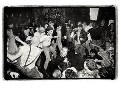 Glen E. Friedman  (American, born 1962). Ian MacKaye and Minor Threat, CBGB's, December 1982. The Metropolitan Museum of Art, New York. Gift of the artist, 2010 (2010.424.2). Photograph © Glen E. Friedman #punkfashion