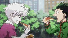 Gon and Killua - eating challenge :D