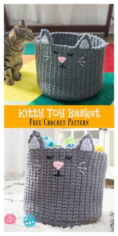 Kitty Toy Basket Fre