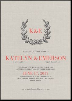 http://www.weddingpaperdivas.com/product/17641/signature_white_wedding_invitations_everlasting_emblem.html#color/02/pid/17641