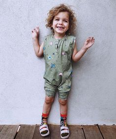 Fun and trendy romper. Australian made. Rompers For Kids, Kids Branding, Surface Pattern Design, Toddler Fashion, Kids And Parenting, Organic Cotton, Kids Outfits, Product Launch, Unisex