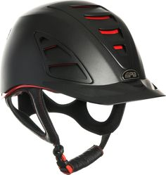 "The ultimate prestige helmet from ""Redline"" collection with the new worldwide safety concept. Alliance of carbone technology times more resistant and 11 Horse Riding Gear, Riding Helmets, Equestrian Outfits, Equestrian Style, Endurance Saddles, Sports Helmet, Shock Wave, Horse Fashion, English Riding"
