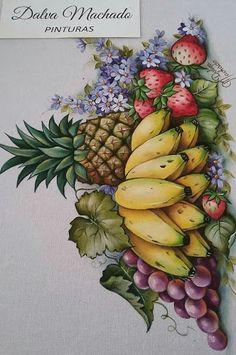 Cool canvas art diy acrylic paintings 68 Ideas in 2019 Kids Canvas Art, Diy Canvas, Canvas Wall Art, Fruit Painting, Fabric Painting, Art Drawings For Kids, Easy Drawings, Fruit Art, Watercolor Art