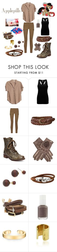 """""""Elements of Insanity: Honestly"""" by keih95 ❤ liked on Polyvore featuring Xirena, BKE core, Belstaff, Uniqlo, Steve Madden, Kenneth Jay Lane, Hermès, TOKYObay, Essie and Maya Magal"""