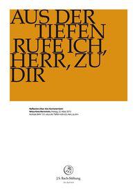 """BWV 131: NITZA KATZ-BERNSTEIN  Reflexion zum Kantatentext  Joachim Rittmeyer über BWV 131 """"Aus der tiefen rufe ich, Herr, zu Dir""""  22. März 2013 Bernstein, Foundation, Foundation Series"""