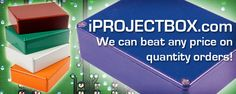 Electronics Boxes for any Project Box, Electronics Enclosure or Instrument Enclosure for Serpac, Hammond and LMB Heeger
