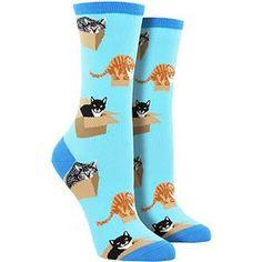 Image of Cat In A Box Socks