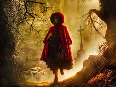 Kittle Red Riding Hood ~ Brothers Grimm