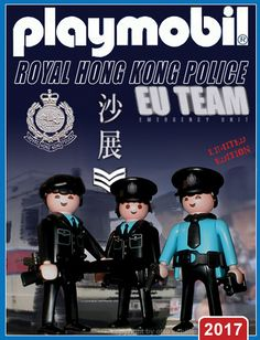 Royal Hong Kong Police - EU Team // The image and figures do not necessarily reflect the opinion of Playmobil. #playmobilcustom