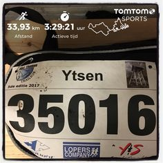 Sint Thomas trail in Nieuwehorne. 35 km in 3:41:56.