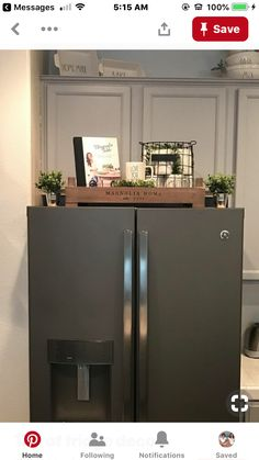 Country decor for one fascinating space - The most lovely answers. - Country decor for one fascinating space – The most lovely answers. This creative pin arranged und - Decor, Fridge Decor, Kitchen Remodel, Kitchen Decor, Home Remodeling, Home Decor, Home Deco, Kitchen Redo, Home Kitchens