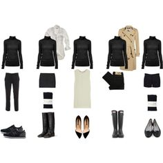 """""""Wardrobe Essentials: The Black Turtleneck"""" by coffeestainedcashmere on Polyvore"""