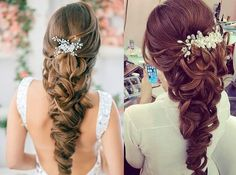 Coiffure de mariage tresses | Coiffures, Belle and Hairstyles