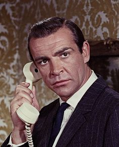 """""""My name is Bond - James Bond"""" - (Sean Connery).  -  from """"DR NO"""""""