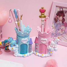Product ID: resinColor:Pink,BlueSize: Pastel Room Decor, Cute Room Decor, Polymer Clay Crafts, Diy Clay, Cute Crafts, Diy Crafts, Crea Fimo, Unicorn Room Decor, Kawaii Bedroom