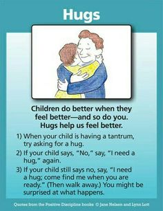 Hugs can cure just about anything!