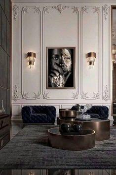 Discover these #livingroomideas! #bocadolobo #luxuryfurniture #interiordesign #designideas #modernroom #homedecor #livingroomdecor #interiordesigninspiration Interior Decorating, Interior Design, Design Case, Modern Design, Loft, Living Room, Living Area, Architecture, Bedroom