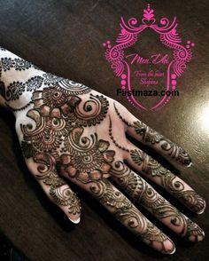 Bridal Mehndi Designs Collection 2013-2014