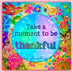 Thankful Quotes, In This Moment