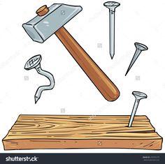 Bildresultat för nail wood plank
