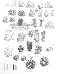 """Here's a bunch of rocks because why not"" Landscape Sketch, Landscape Drawings, Drawing Rocks, Animation 3d, Ink Pen Art, Art Drawings, Drawing Sketches, 2d Game Art, Texture Drawing"