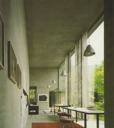 Peter Zumthor Home
