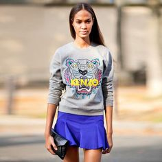 In love with this Kenzo Paris Sweater that I have recently discovered from my fellow friend @Gabby Meriles Siegfried