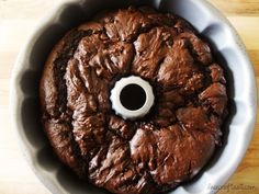 amazing death by chocolate bundt cake - and so easy!!