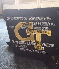 Georgia Tech Cooler | The Cooler Connection on Pinterest